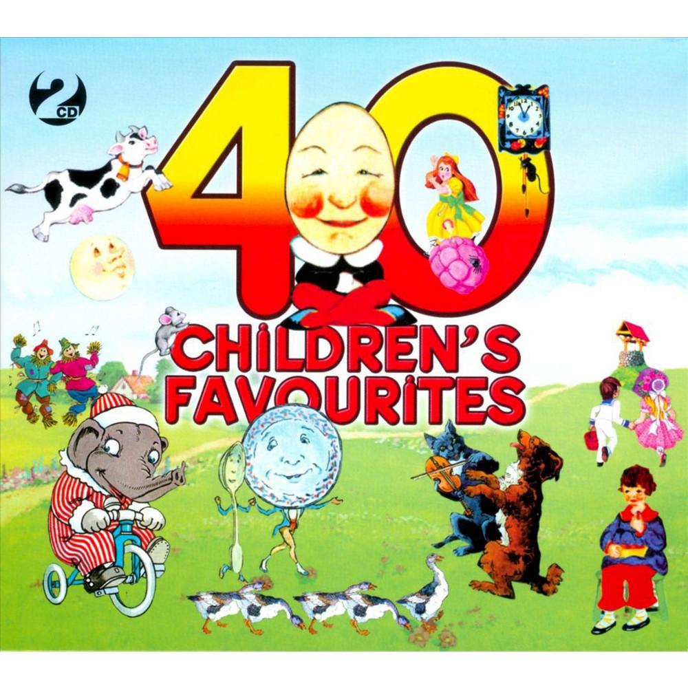 Various - 40 children's favourites (CD)