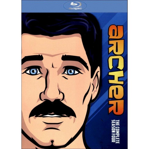 Archer: The Complete Fourth Season [2 Discs] [Blu-ray] - image 1 of 1