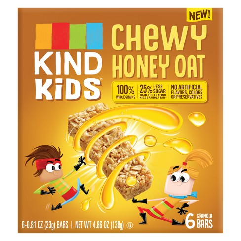 KIND Kid's Chewy Honey Oat Granola Bars - 4.86oz - image 1 of 3