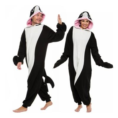 Funziez! Killer Whale Adult Unisex Novelty Union Suit