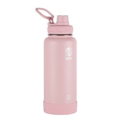 Takeya Actives 32oz Insulated Bottle with Insulated Spout Lid - Blush