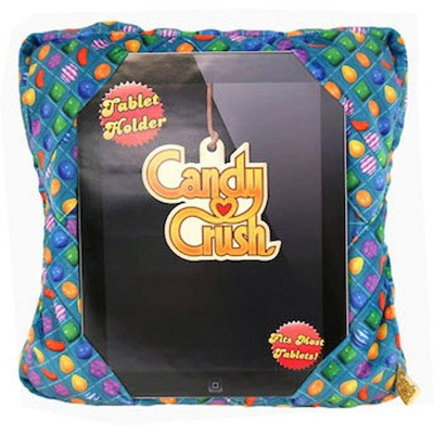 Commonwealth Toys Candy Crush Saga Blue Plush Tablet Holder