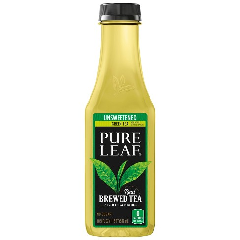 Pure Leaf Unsweetened Green Tea - 18.5 fl oz Bottle - image 1 of 3