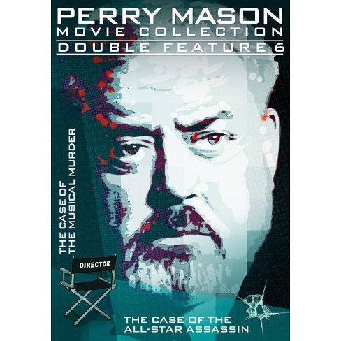 Perry Mason-double Feature-case Of The Musical Murder/All-star Assassin(Dvd (DVD) - image 1 of 1