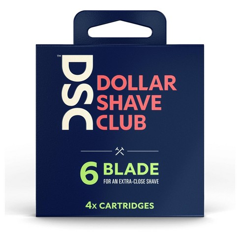 Dollar Shave Club 6-Blade Razor Cartridge Refills - 4ct - image 1 of 4