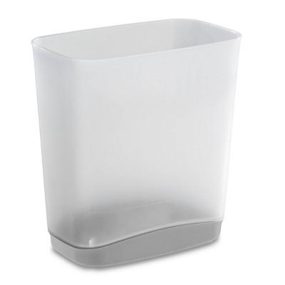 No-lid Trash Can Cement - Room Essentials™