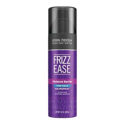 Frizz Ease John Frieda Moisture Barrier Firm Hold Hair Spray - 12oz
