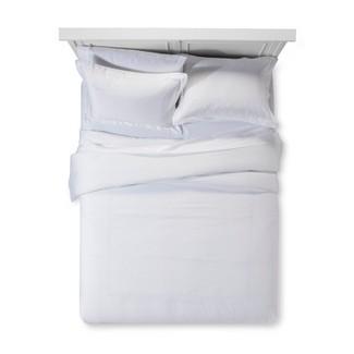 White Tonal Hotel Comforter Set (King) - Fieldcrest®