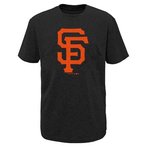 MLB San Francisco Giants Boys' Performance T-Shirt with Gel Print - image 1 of 1