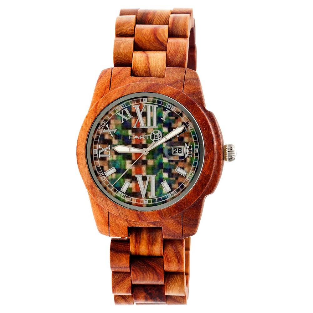 Earth Men's Wristwatch - Red