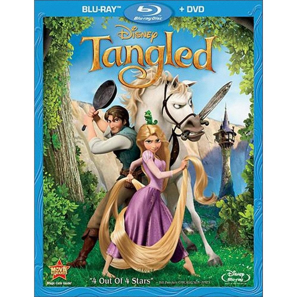 Tangled (2 Discs) (Blu-ray/Dvd)