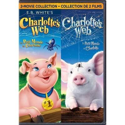 Charlotte's Web (1973) / Charlotte's Web (2006) (DVD)(2020)