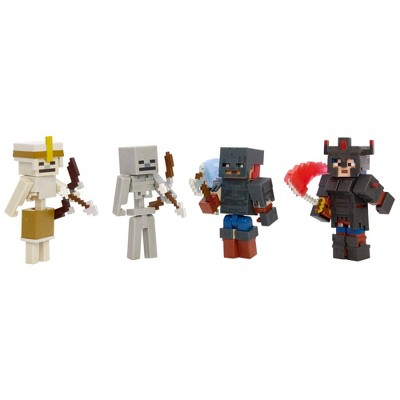 Minecraft Dungeons Battle of Fiery Forge Figures