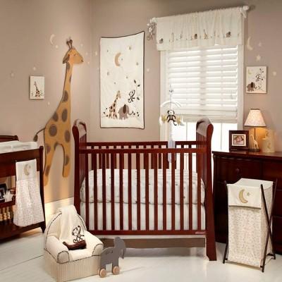 Nojo Dreamy Nights Nursery Crib Bedding Set - 4pc