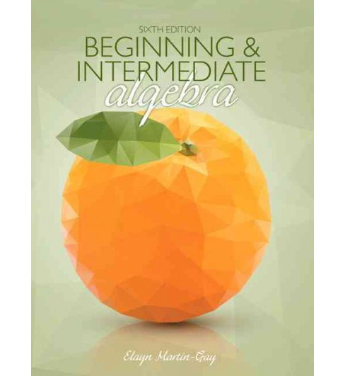 Beginning & Intermediate Algebra (Student) (Hardcover) (K. Elayn Martin-Gay) - image 1 of 1