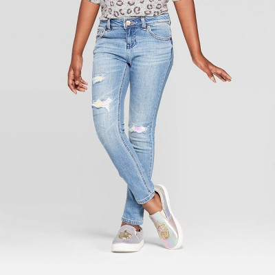 Girls' Flip Sequin Mid-Rise Jeans - Cat & Jack™