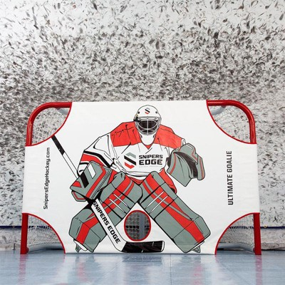 Snipers Edge Hockey Ultimate Goalie Shooter Tutor (Net Not Included)
