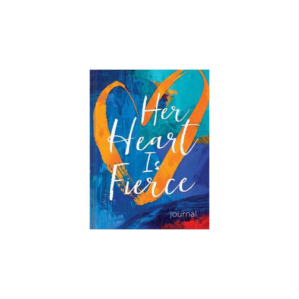 Her Heart Is Fierce Journal - (Hardcover)