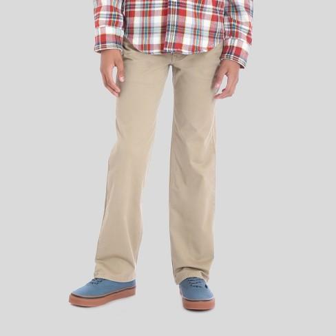 752e1f77 Wrangler® Boys' 5pkt Straight Fit Chino Pants - Beige : Target