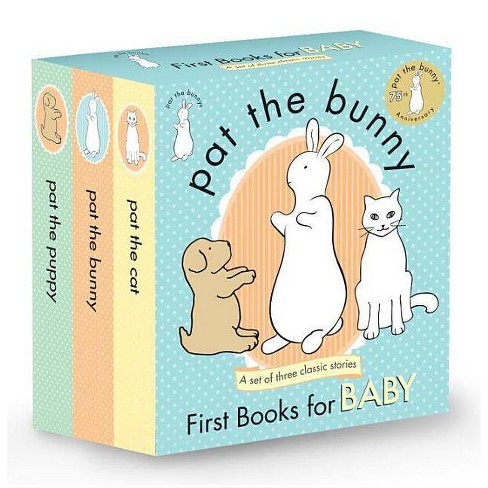 Pat the Bunny: First Books for Baby (Touch and Feel) (Paperback) by Dorothy Meserve Kunhardt - image 1 of 1