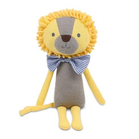Peanut Shell Leon the Lion Knit Plush - image 1 of 4