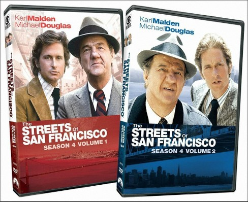 Streets of san francisco:Season 4 (DVD) - image 1 of 1