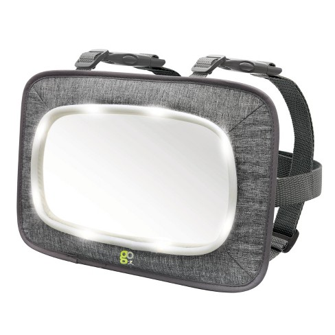 GO By Goldbug Light Up Mirror For Rear And Forward Facing Car Seats - image 1 of 4
