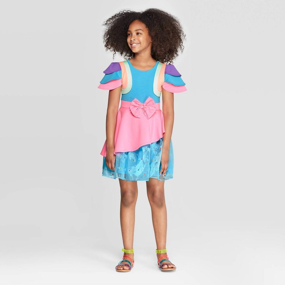 Image of Girls' JoJo's Closet Birthday Dress - L Plus, Girl's, Size: Large Plus, MultiColored