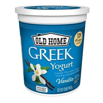 Old Home Greek Vanilla Yogurt - 32oz