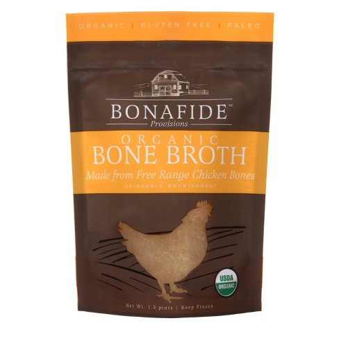 Bonafide Provisions Organic Frozen Bone Broth - 1.5pt - image 1 of 1
