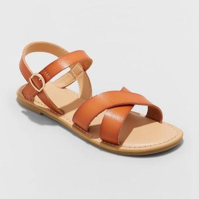 Girls' Pasha Ankle Strap Sandals - Cat & Jack™