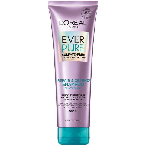 L'Oreal Paris EverPure Sulfate Free Repair & Defend Shampoo - 8.5 fl oz - image 1 of 4