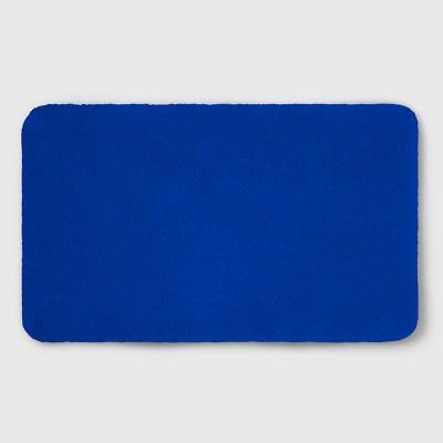 Perfectly Soft Nylon Solid Bath Rug Capri Blue (34 X20 )- Opalhouse™