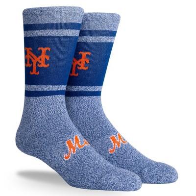 MLB New York Mets Varsity Crew Socks