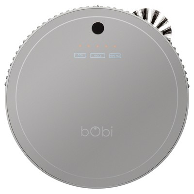 bObi Pet Robot Vacuum Cleaner - Silver