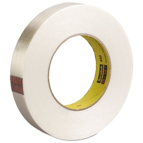 """Scotch High-Strength Filament Tape Rubber 24mm x 55m 3"""" Core Clear 8981 - image 1 of 1"""