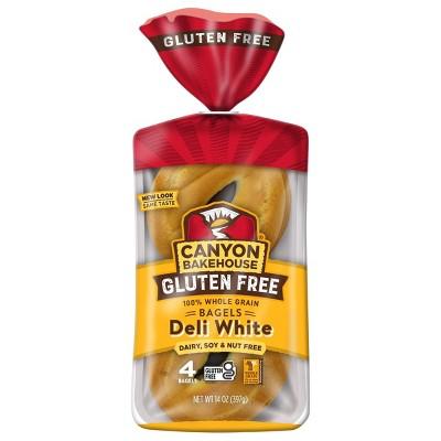 Canyon Bakehouse Gluten Free White Bagels - 14oz/4ct