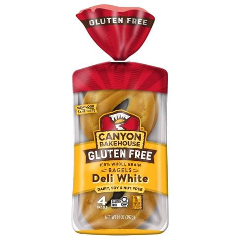 Canyon Bakehouse Gluten Free White Bagels - 14oz/4ct - image 1 of 4