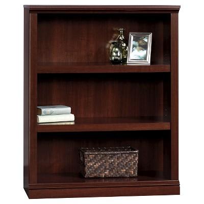 43.78  3 Shelf Bookcase - Select Cherry - Sauder