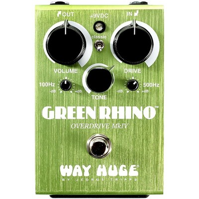 Way Huge Electronics Green Rhino Mini MK4 Overdrive Guitar Effects Pedal