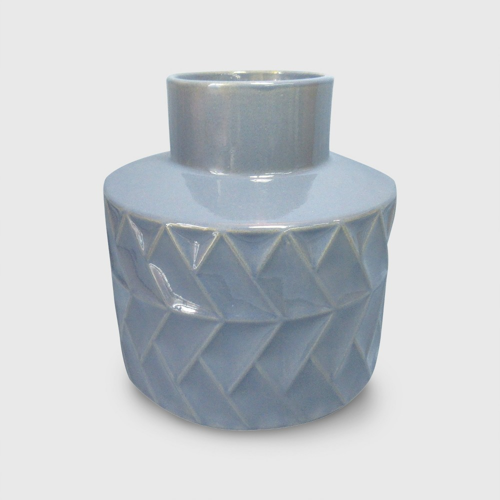 Clay Vase - Blue - Project 62