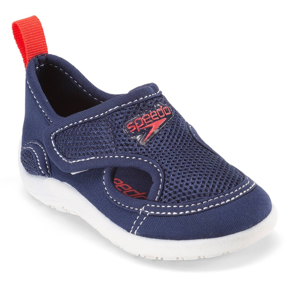 Speedo Youth Water Shoes Xtra large - Navy (Blue), Boy's