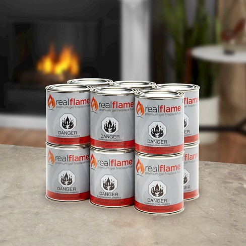 12 Pk Real Flame Premium Gel Fuel - 13 Oz Cans - image 1 of 2