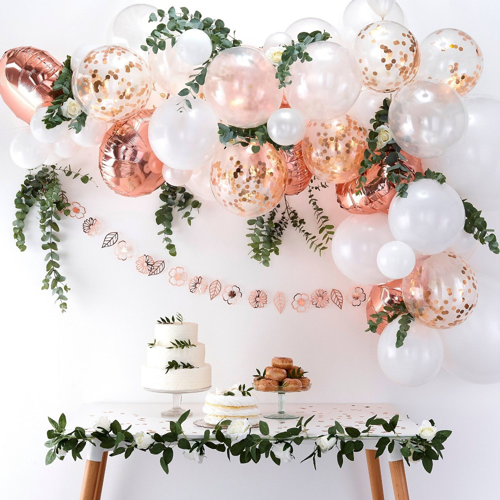 Image of Balloon Arch Rose Gold