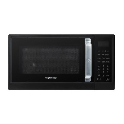 Calphalon 1.3 cu ft 1000W Air Fry Microwave Oven - Matte Black