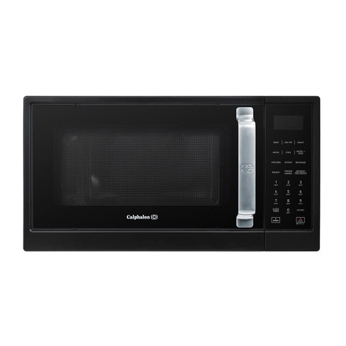 Calphalon 1.3 cu ft 1000W Air Fry Microwave Oven - Matte Black - image 1 of 4