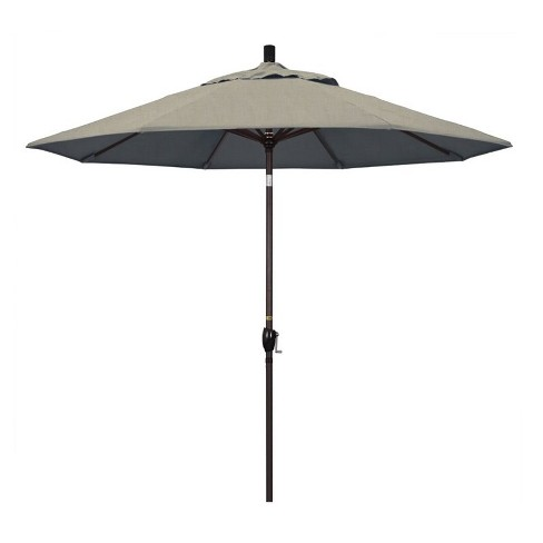 9' Patio Umbrella in Spectrum Dove - California Umbrella - image 1 of 2