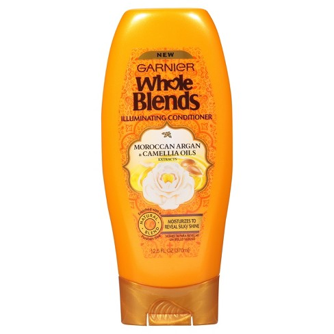 Garnier Whole Blends Moroccan Argan & Camellia Oils Extracts Illuminating Conditioner - 12.5 fl oz - image 1 of 7