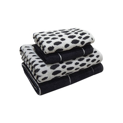 Woven Pattern Bath Towel Set Dark Gray - Project 62™