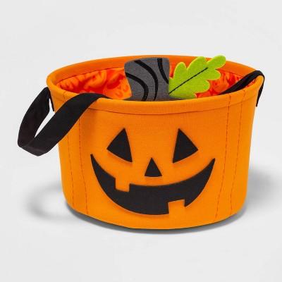 Fabric Pumpkin Halloween Candy Bowl - Hyde & EEK! Boutique™